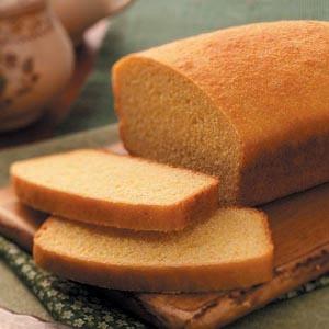 Yeast Corn Bread Loaf | Recipe