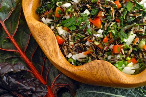 Classic – Emerald City Salad. Wild rice, fennel, yellow pepper ...