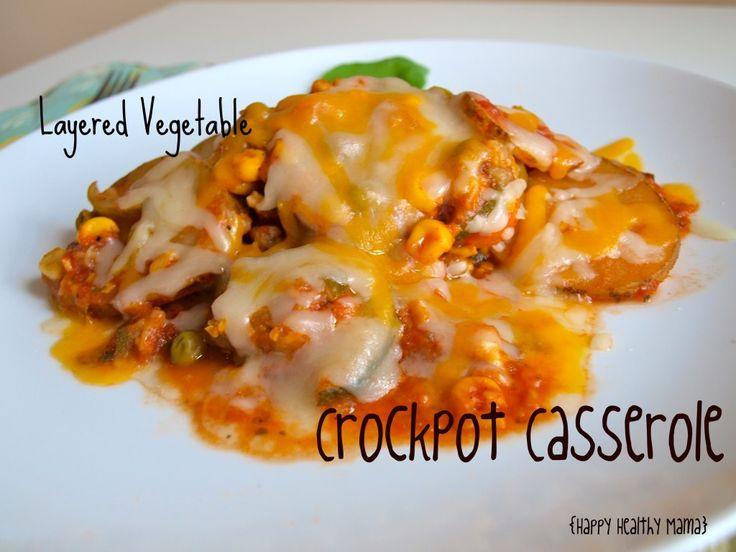 layered vegetable crockpot meal