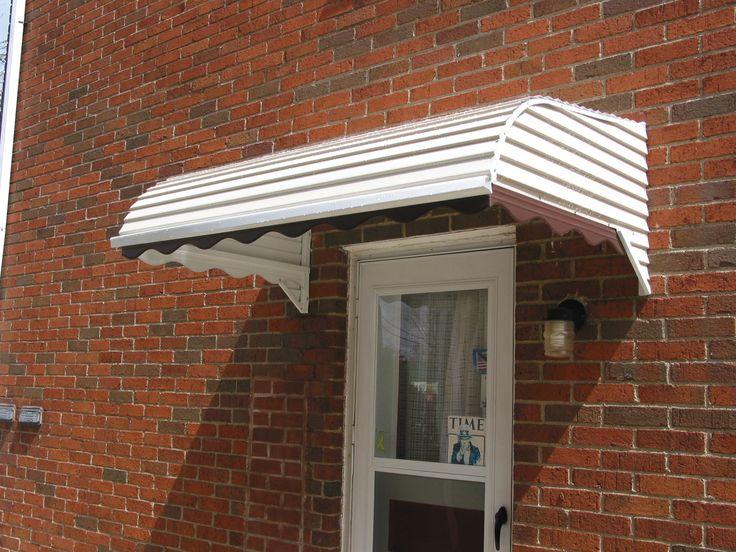 Metal Door Awnings : Aluminum door canopy awning