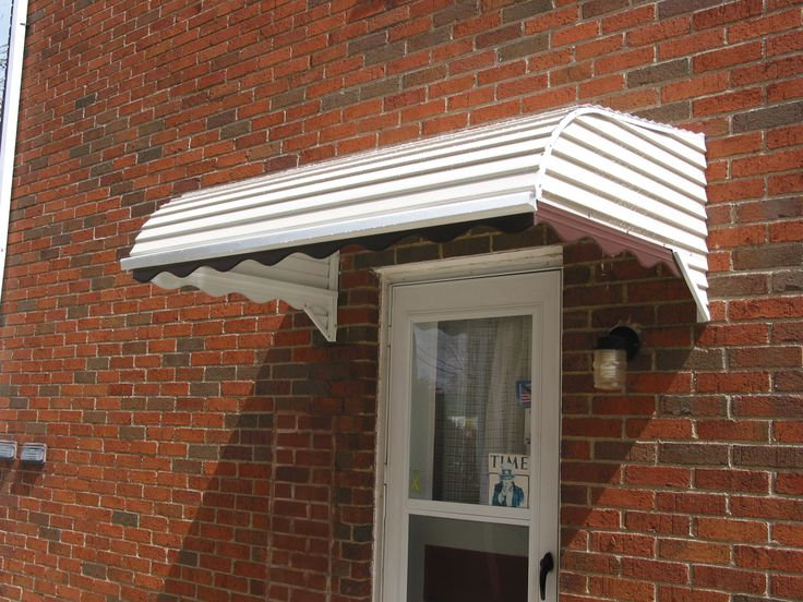 Window Canopy Awnings : Aluminum door canopy awning