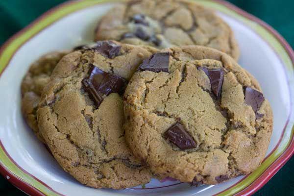 jumbo chewy chocolate chunk cookies | cookies | Pinterest