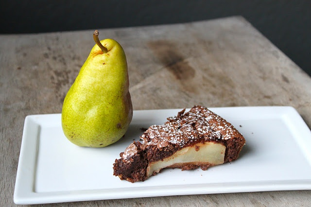 Flourless Chocolate and Pear Cake | Recipe