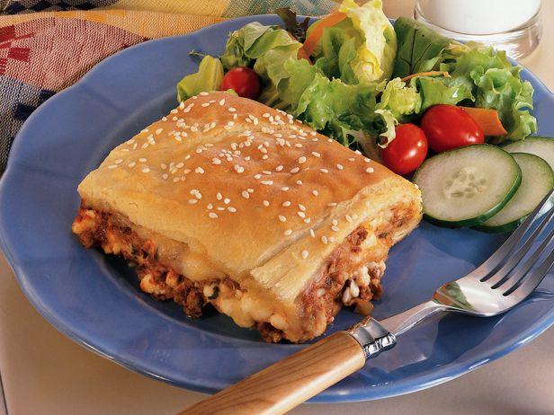 Crafty Crescent Lasagna from FoodNetwork.com