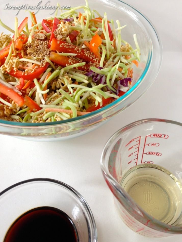 Asian-Inspired Coleslaw from Scrumptiously Skinny - A delicious side ...