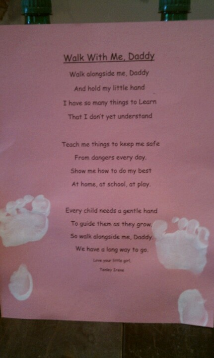 fathers day poems from baby momma