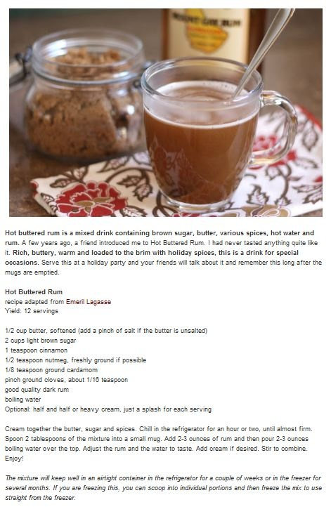 Spiced rum drink | Food recipes | Pinterest