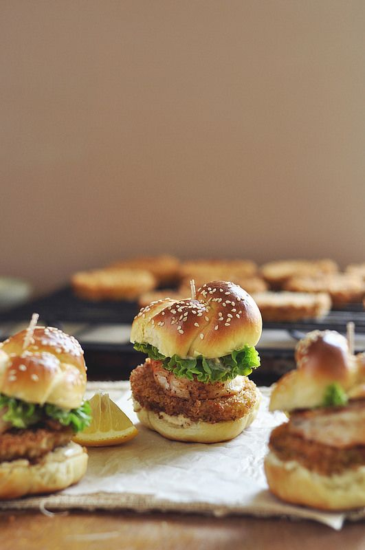 Fried Green Tomato and Shrimp Sliders | Recipes I think would be grea ...