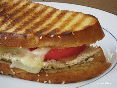 Chicken, Pancetta & Swiss Panini Recipe | Panini Happy®