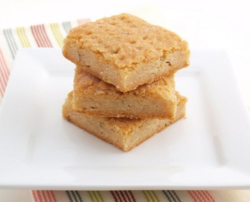 Salted Honey Lavender Shortbread from evilshenanigans.com