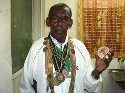 Oromo athlete, a father of 12, Wami Biratu was once among the best long-distance runners in Ethiopia. Wami had at one point trained Abebe Bikila. In his career, Wami had won 30 gold, 40 silver and 10 bronze medals and won competitions in Egypt, Japan and Czhekoslavakia. http://www.oromiasports.com/athletics.html