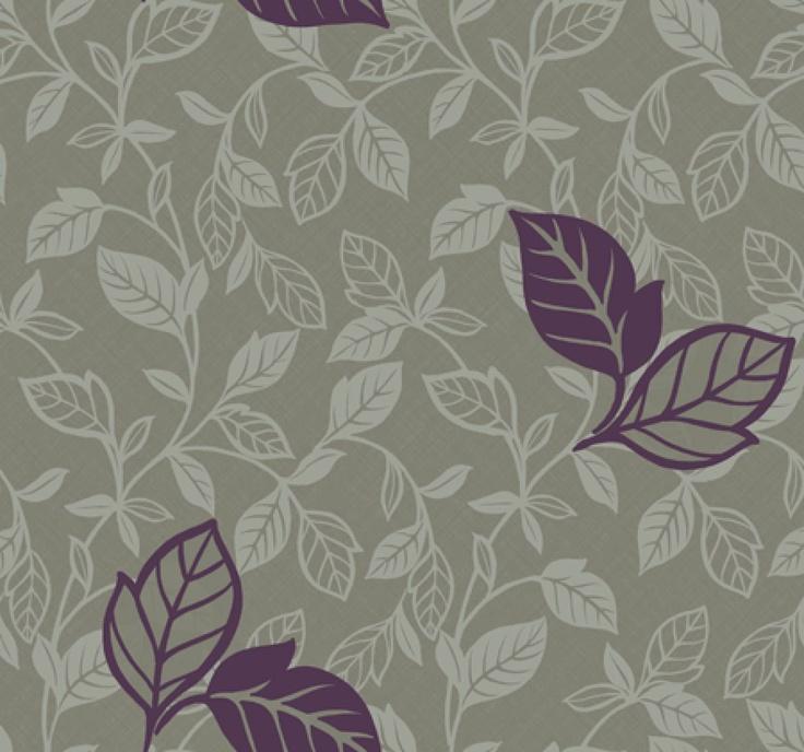 paars met grijs behang  Behang  Pinterest