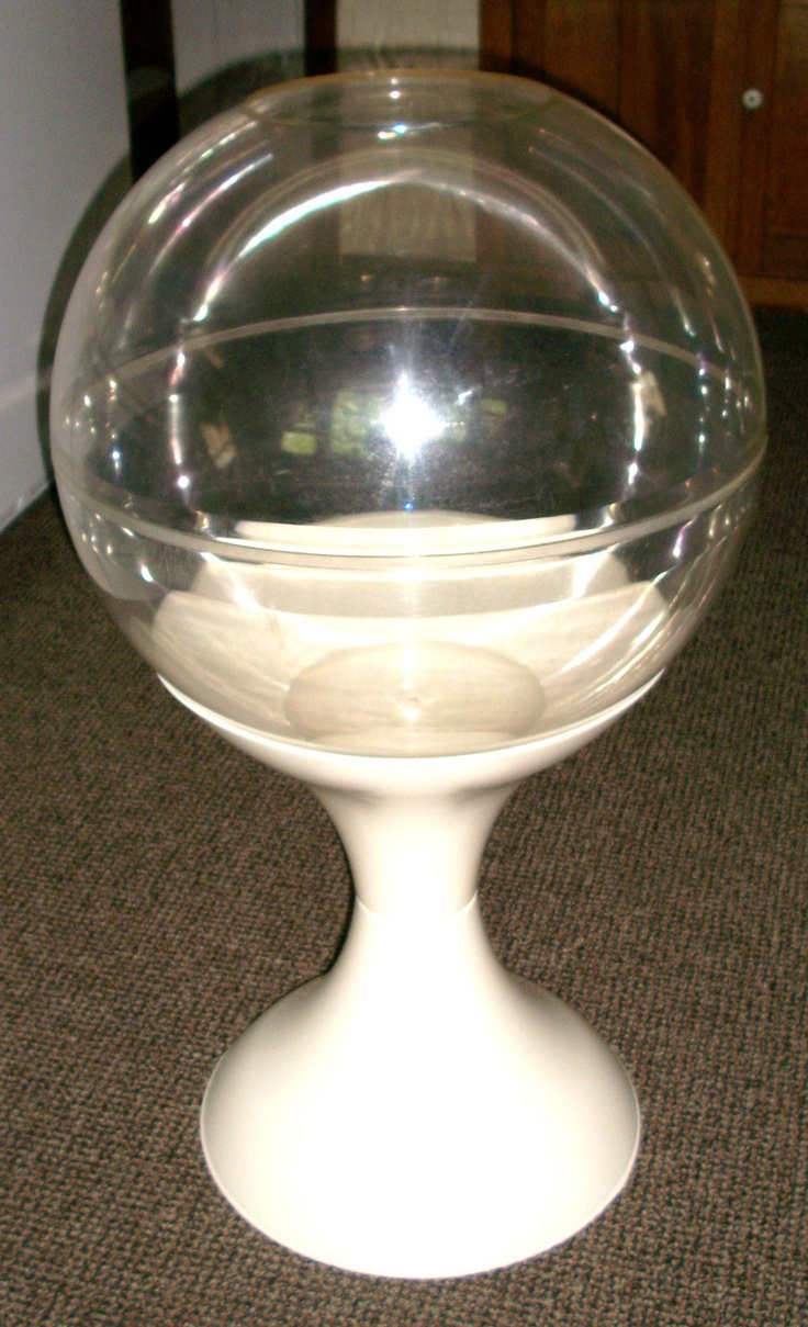 Large retro mid century eames tulip base plastic dome for Large photos for sale