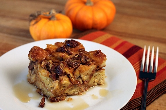 Croissant Bread Puddings