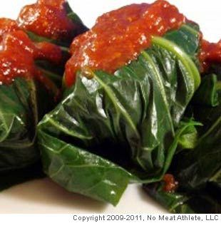 Black Eyed Pea Collard Green Rolls