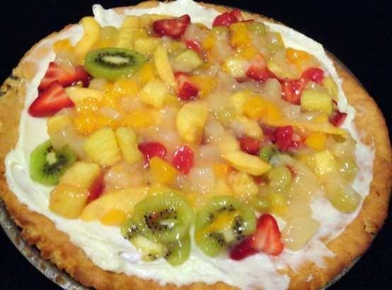 fruit pizza | Brunch | Pinterest