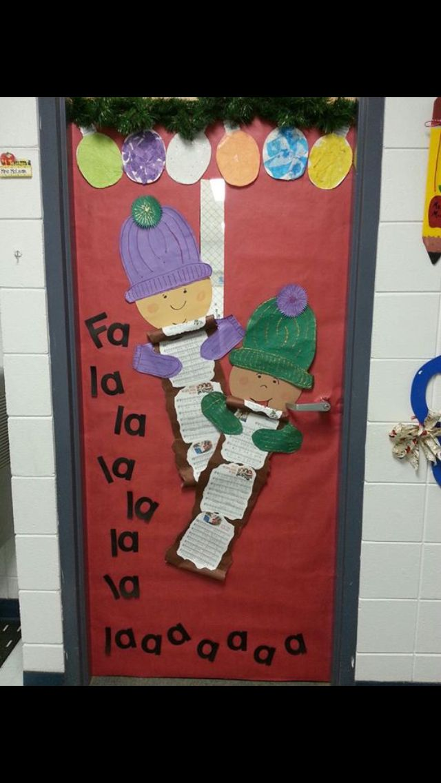 Decorating Ideas > Christmas Classroom Door )  School Ideas  Pinterest ~ 105106_Christmas Door Decorating Ideas For The Classroom