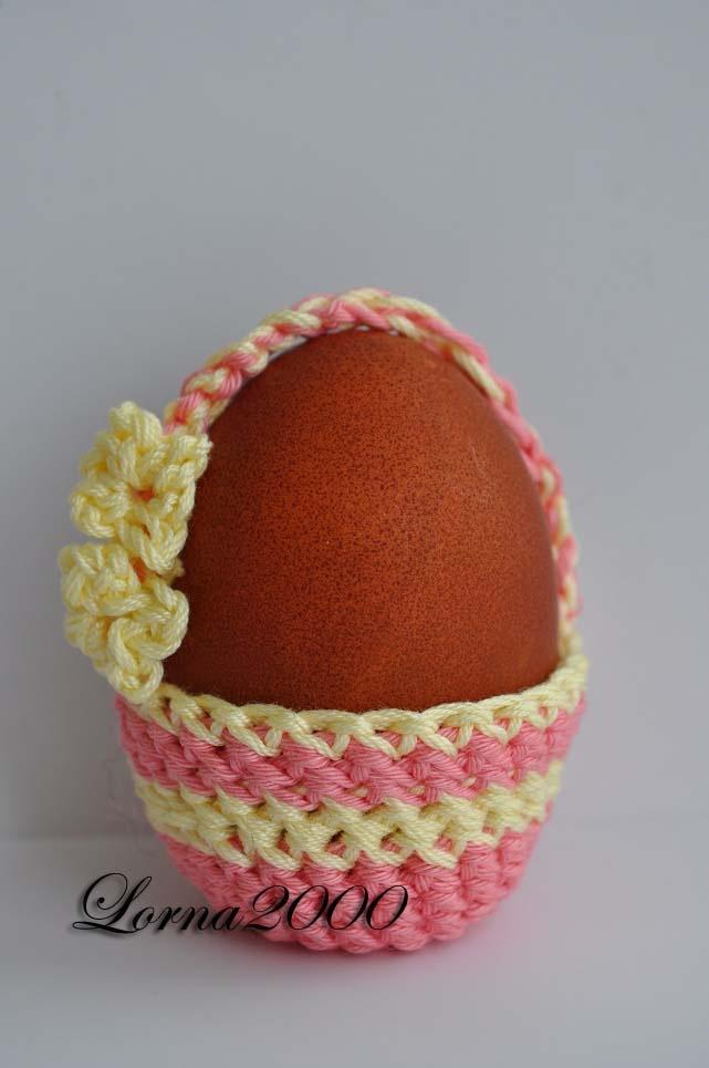Crochet Easter egg basket - 2012 crochet Pinterest