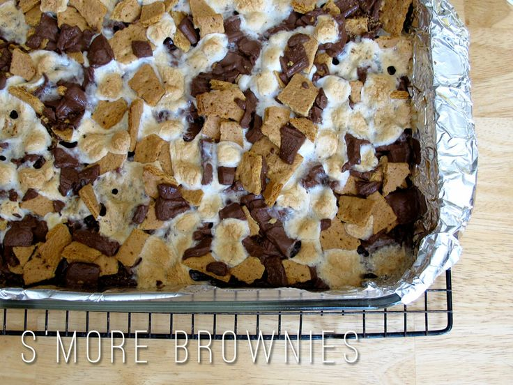 mores with my whole heart and soul. marta writes: s'more brownies ...