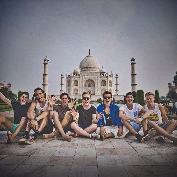 Finn Harries - funforlouis: Team Taj! @Jack and Finn Harries @Finn Harries...
