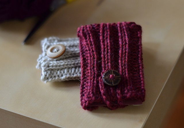 Gift card holders | Knitting to Admire | Pinterest