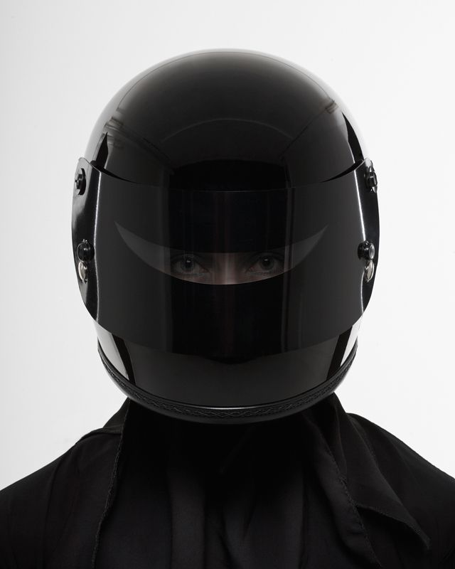 Death Spray Custom - Helmet Niqab
