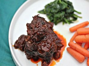 Braised Short Ribs With Porcini-Port Wine Sauce Delicious! Didn't ...
