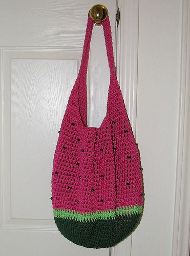 Crochet Market Bag Pattern Free : crochet market bag - free pattern Crochet ideas Pinterest