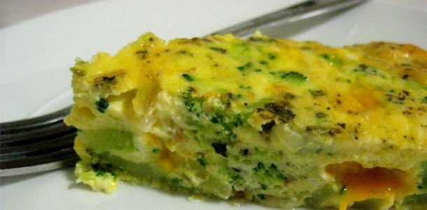 Cheesy Crustless Quiche recipe | Recipes | Pinterest