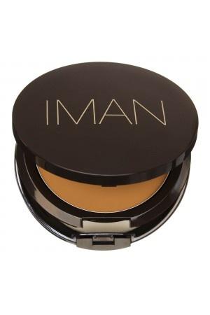 Iman Makeup on Sand 5   Fond De Teint Cr  Me Poudre   Iman Cosmetics   Iman