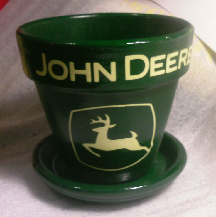 John Deere Flower Pots : Flower pot john deere pinterest