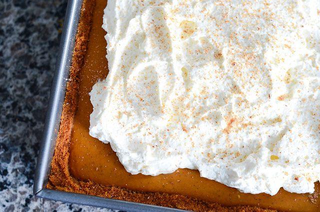 pumpkin icebox pie | The Sweet Stuff | Pinterest
