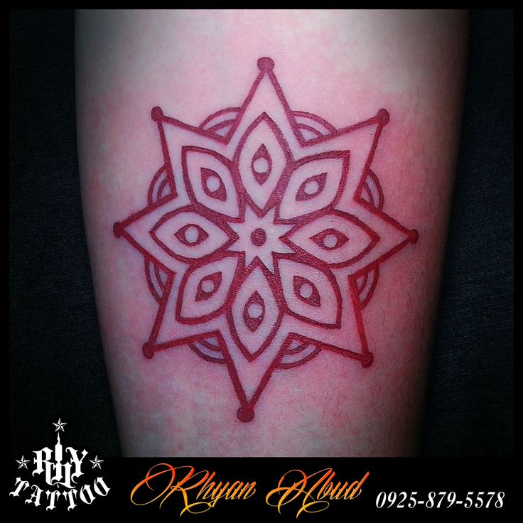 Mandala Tattoo Looks Like Scarification  Rhy Worx Pinterest