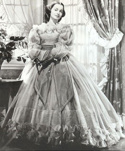 The Heiress  1949 film starring Olivia de Havilland  The Edith Head    Olivia De Havilland The Heiress