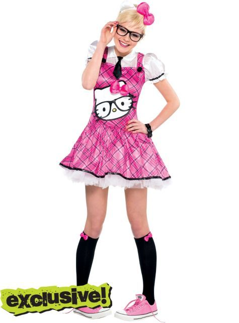 Teen Girls Nerd Hello ...