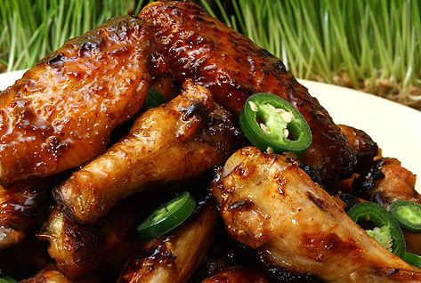 Coca-Cola Glazed Chicken Wings | Hunk of Meat Monday | Pinterest