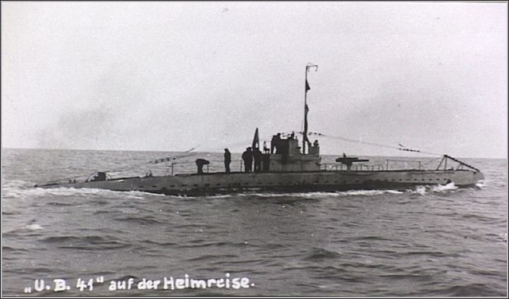 Divers discover ship sunk by 'gentlemanly' German U-Boat in WWI UB-41...