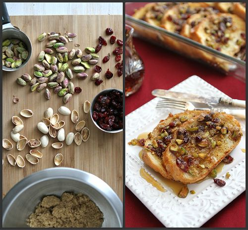 Baked French Toast Casserole with Cranberry & Pistachio Streusel | Re ...