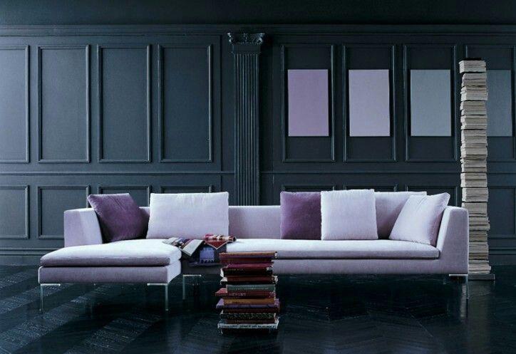 B b italia charles sofa furniture pinterest for B b sofa