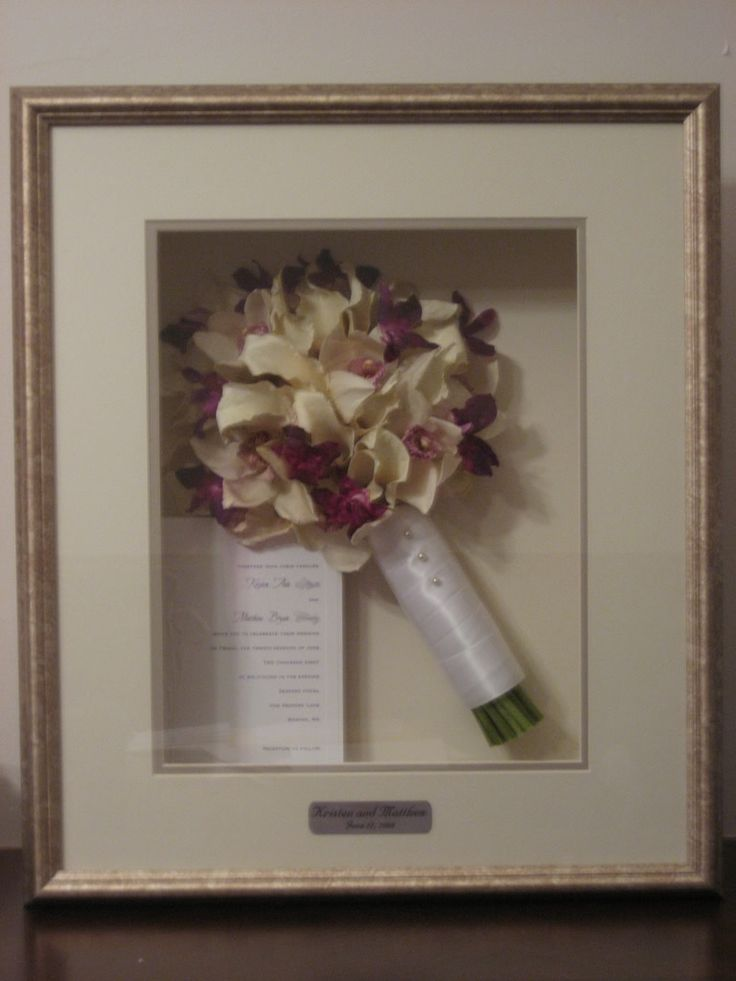 Wedding Bouquet Preservation Pressed : How to preserve your wedding bouquet
