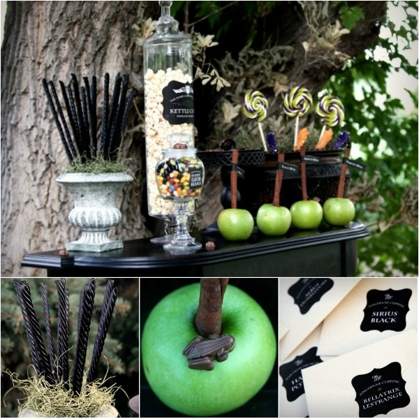 Harry Potter Treat Table Parties Decorations And Gifts