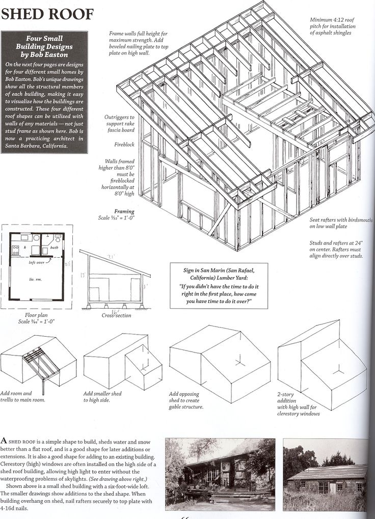 Shed roof boards for Barn roof plans