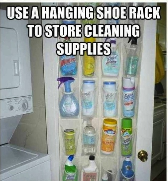 Organize cleaning supplies if i ever find a house for Organize cleaning your house