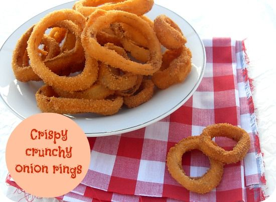 Crispy Crunchy Onion Rings and a review of Starters and Sides Made ...