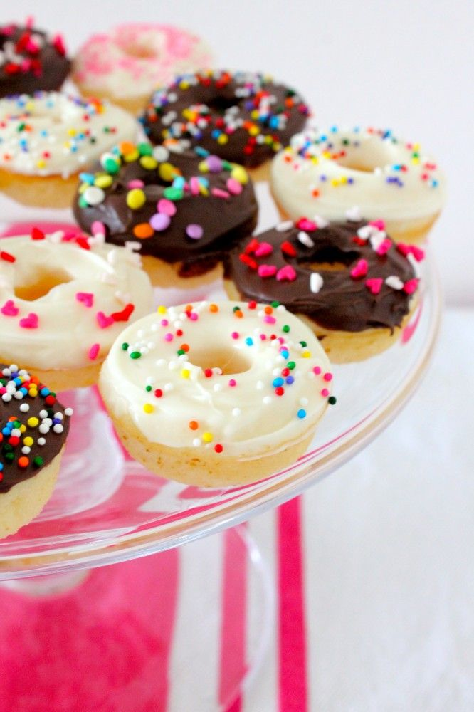 baked mini donuts | Donuts | Pinterest