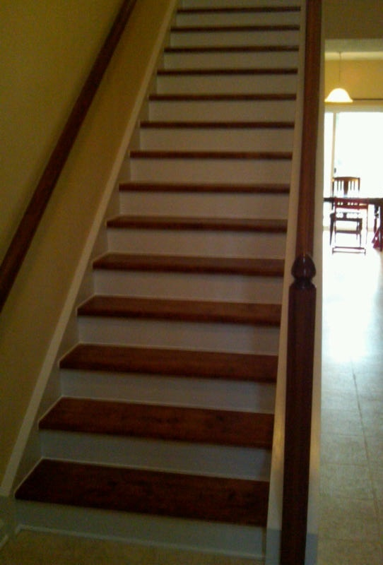 re finished stairs basement finishing ideas pinterest