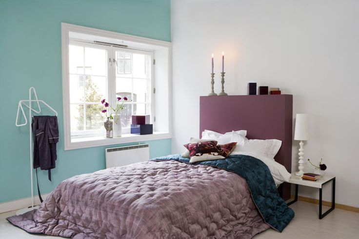 Soft Mauve And Teal Bedroom Bedroom Therapy Pinterest