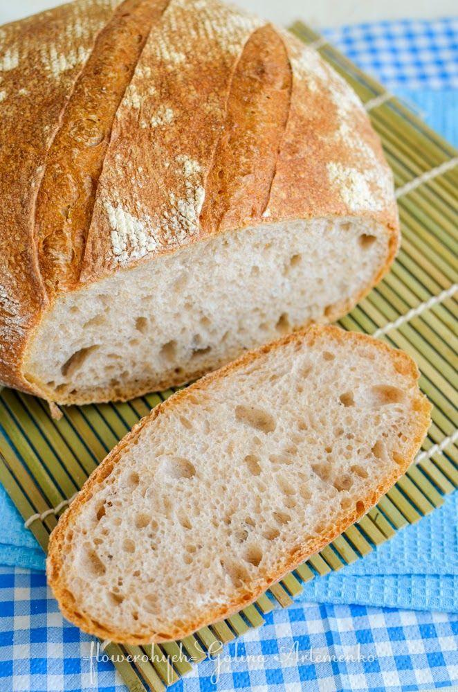 Как испечь хлеб в домашних условиях без дрожжей на воде