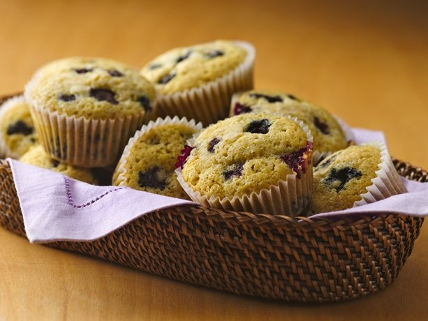 Gluten Free Blueberry Corn Muffins--love this recipe and it is getting ...