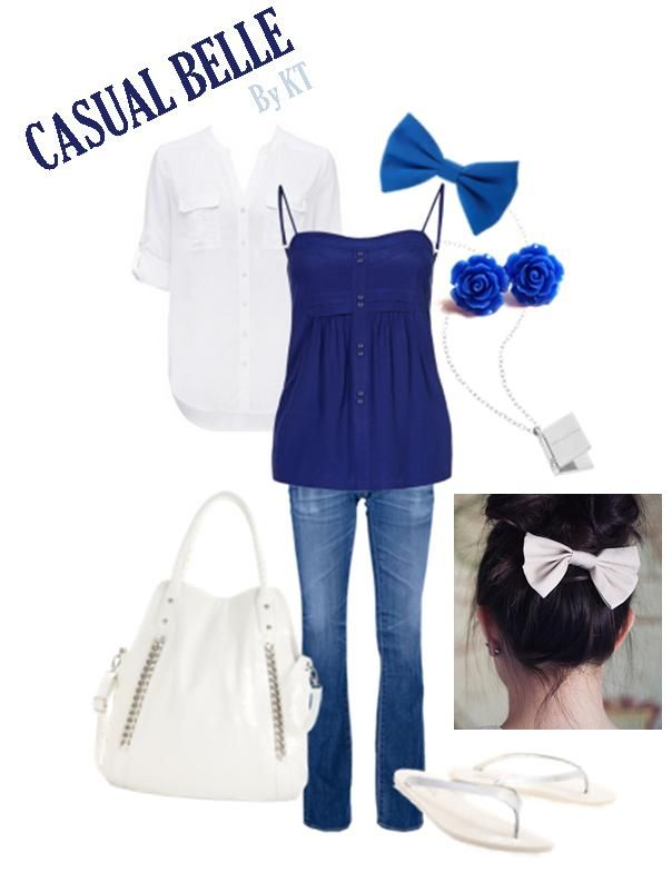 Belle casual outfit | DISNEY Inspired Outfits | Pinterest